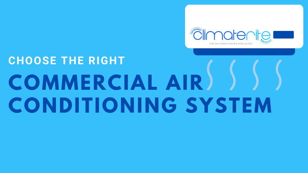 Right commercial air conditioning system